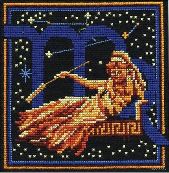 Знаки зодиака вышивка крестом дева