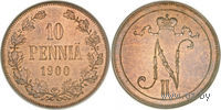 10 пенни 1900