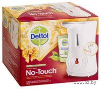 """Диспенсер для антибактериального жидкого мыла для рук """"DETTOL"""" с сенсорной системой """"No touch"""" с запасным блоком и батарейками"""