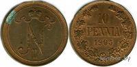 10 пенни 1905