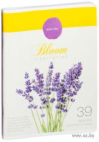 """Тетрадь в клетку """"Bloom Inspiration"""" (96 листов)"""