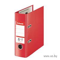 Папка-регистратор А5 с арочным механизмом (красная)