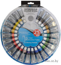 "Акварельные краски ""Color Wheel"" (24 цвета х 12 мл)"