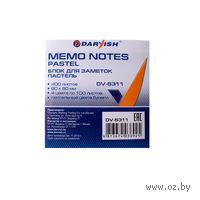"Бумага для заметок ""Darvish"" (80x80 мм; 400 листов; 4 цвета)"