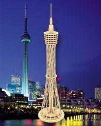 """Сборная деревянная модель """"Сиднейская башня"""""""