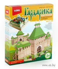 """Сборная деревянная модель """"Гардарика. Городские ворота"""""""
