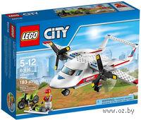 """LEGO. City. """"Самолет скорой помощи"""""""