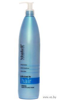 Пенка для укладки волос сильной фиксации (500 мл)