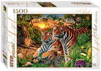 """Пазл """"Сколько тигров?"""" (1500 элементов)"""