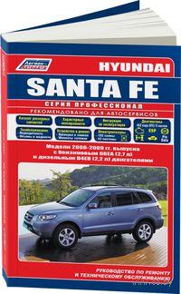 Hyundai Santa Fe с 2006-2009 гг. Руководство по ремонту и техническому обслуживанию