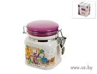 Банка для сыпучих продуктов керамическая с клипсой (500 мл; арт. 0660025)
