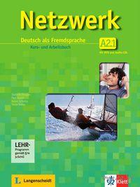 Netzwerk A2/1. Kurs- und Arbeitsbuch (+ 2 CD + DVD)