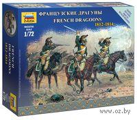 "Набор миниатюр ""Французские драгуны 1812-1814"" (масштаб: 1/72)"