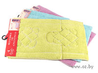 Набор ковриков текстильных (2 шт.; 40х60/40х40 см; арт. S-0048)