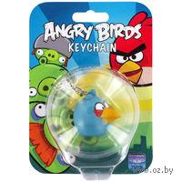 """Мягкая игрушка-подвеска """"Angry Birds"""" (с клипом, на блистере, синяя)"""