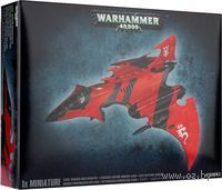 "Миниатюра ""Warhammer 40. 000. Eldar Hemlock Wraithfighter/Crimson Hunter"" (46-14)"