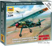Немецкий самолет-разведчик Henschel 126B-I (масштаб: 1/144)