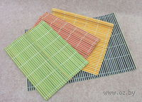 Подставка сервировочная бамбуковая окрашенная (45х30 см; арт. 261634)