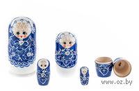 """Матрешка """"Жемчужина"""" (5 куколок)"""