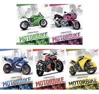 """Тетрадь в клетку """"Motorbike"""" 96 листов"""