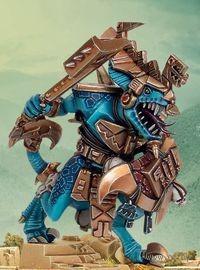 "Миниатюра ""Warhammer FB. Lizardmen Saurus Oldblood"" (88-34)"