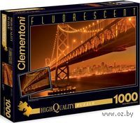 """Пазл """"Сан-Франциско. Мост"""" флуоресцентный (1000 элементов)"""