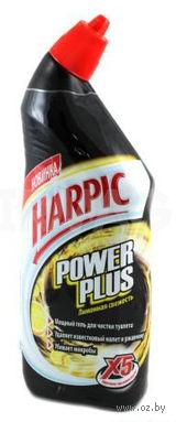 """Чистящее средство для унитаза Harpic Power Plus """"Лимонная свежесть"""" (750 мл)"""