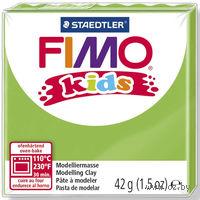 """Глина полимерная """"FIMO Kids"""" (светло-зеленый; 42 г)"""