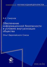 Обеспечение информационной безопасности в условиях виртуализации общества. Опыт Европейского Союза