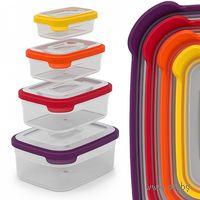 """Набор контейнеров для хранения """"Nest 4"""" (4 шт.; 230/540/1100/1850 мл)"""