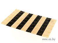 Подставка сервировочная бамбуковая окрашенная (30*45 см, арт. 4900003)