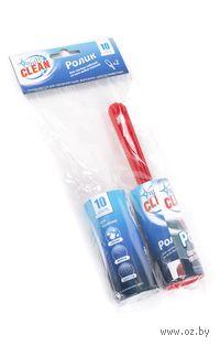 Ролик для чистки одежды бумажный (200х40х100 мм; сменная насадка)