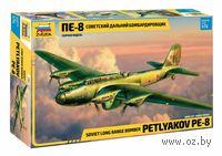 Самолет Пе-8 (масштаб: 1/72)