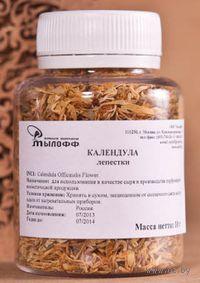 Лепестки календулы для изготовления мыла (10 гр)