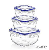 Набор контейнеров для продуктов (3 шт., 500/900/1500 мл)