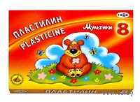 "Пластилин ""Мультики"" (8 цветов)"