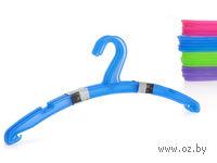 Набор вешалок для одежды пластмассовых (5 шт, 41,5 см)