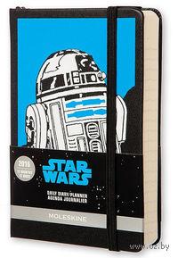 """Ежедневник Молескин """"Star Wars"""" на 2016 год (карманный; твердая черная обложка)"""