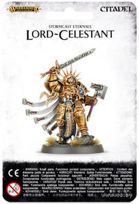 "Миниатюра ""Warhammer AoS. Stormcast Eternals Lord-Celestant"" (96-15)"