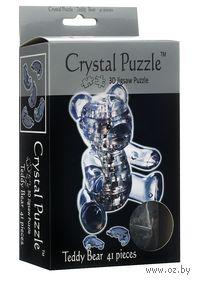 "Пазл-головоломка ""Crystal Puzzle. Мишка"" (41 элемент)"