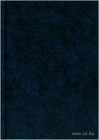 """Ежедневник недатированный """"Темно-синий"""" (А6, 160 листов)"""