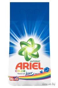 """Стиральный порошок Ariel Pro-ZIM 7 """"Color Lenor Effect"""" для автоматической стирки (3 кг.)"""