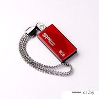 USB FlashDrive 8Gb Silicon Power Touch 810 (Red)