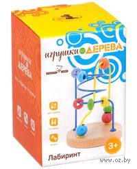 """Развивающая деревянная игрушка """"Лабиринт  5"""""""