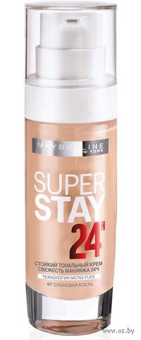 """Тональный крем для лица """"Super Stay 24H"""" (тон: 07, слоновая кость)"""