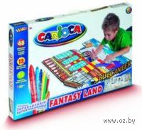 """Набор для рисования """"Carioca Kid""""s World` (Корабль; 72 предмета)"""