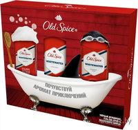 Подарочный набор Old Spice Whitewater (твердый дезодорант 60 мл + лосьон 100 мл + гель для душа 250 мл)