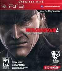 Metal Gear Solid 4: Guns of the Patriots (Greatest Hits) (PS3)