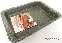 Форма для выпекания металлическая антипригарная (370х265х48 мм)