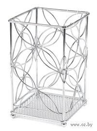 Подставка для столовых приборов металлическая (1*11*18 см, арт. XX7210)